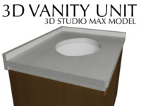 Vanity Unit for 3D Studio