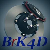 free c4d mode brk4d car brake