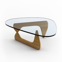 3ds herman miller noguchi coffe table