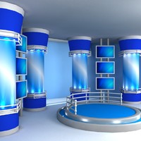 3d model virtual set