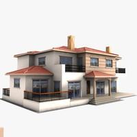 maya house building suburban