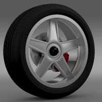 gtr 2005 wheel 3d lwo