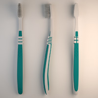 toothbrush brush 3d model
