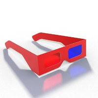 3d 3ds realistic glasses