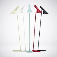 3d model arne jacobsen royal lamps