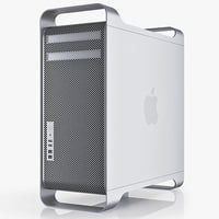 apple mac pro 12 3d model