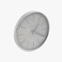 Max Bill Wall Clock