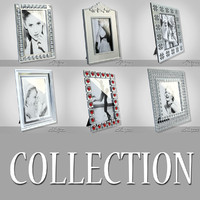photo frames 3d obj