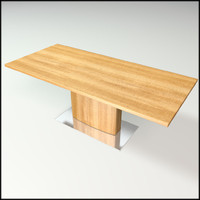 3ds modern table