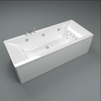 bathtub tub bath 3d 3ds