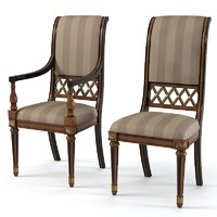 Armando Rho A923 B 923 dining chair set