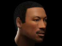 eddie murphy head 3d 3ds