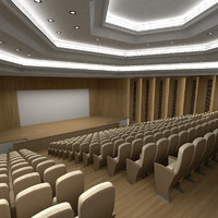 amfitheatre theatre 3d max