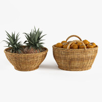Baskets with Fruits