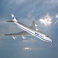 3d pan 747