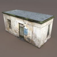 3d lwo building exterior