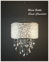 metal bubble shade chandelier 3ds