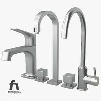 3ds bathroom kitchen sink mixers