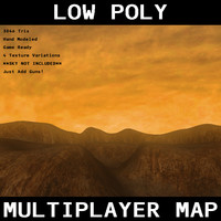 free multiplayer terrain 3d model