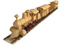 maya wood wooden train