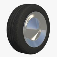 wheel rim 3d c4d