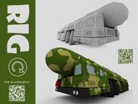 3ds max ballistic missile
