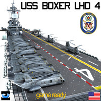 uss boxer 3d model