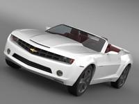 lightwave chevrolet camaro convertible concept