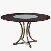 3d model table creazioni romeo