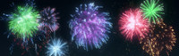3ds max Fireworks
