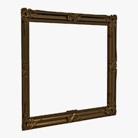 3d model of picture frame v4