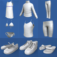 Little Girl Clothing Pack