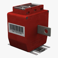Support Type Current Transformer Red