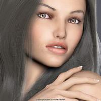face 9 vivi v3 3d model