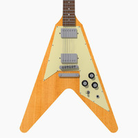 3ds max gibson flying v