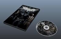 3d dvd model