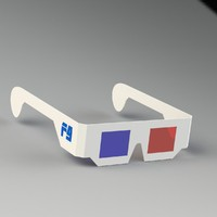 maya stereoscopic glasses