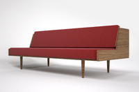 3d hans wegner daybed model