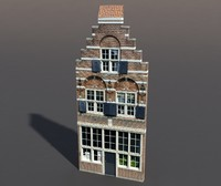 building exterior modeled 3d model