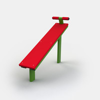 exercise bench 3d x