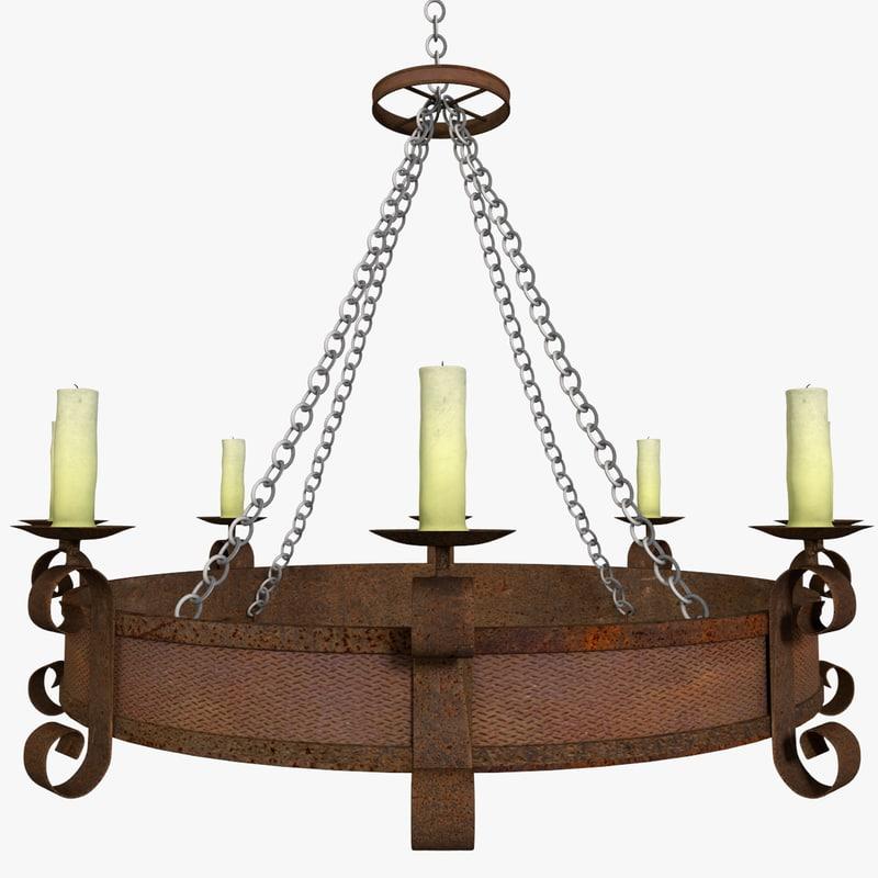 me val chandelier 3ds