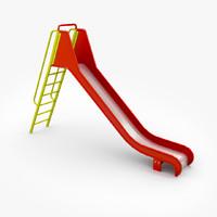 3dsmax big slide ladder