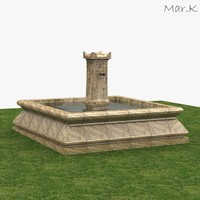 fountain 1891 3d 3ds