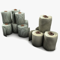 Toilet Paper Collection Textured