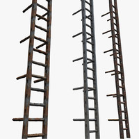 Old Metal Ladder Textured