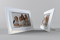 photo modern frame obj