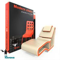 3d model of modern