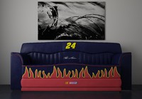 fbx nascar sofa