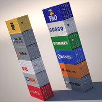 3dsmax iso container 20
