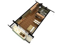 3D Floor Plan Doll House View 08